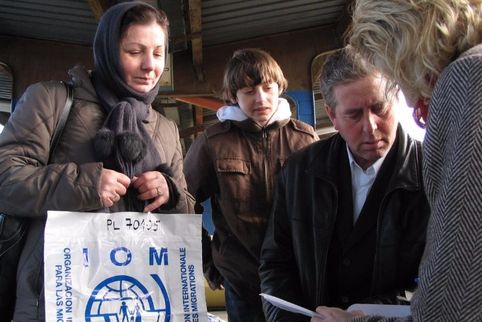 IOM will provide financial assistance to the displaced for winter needs