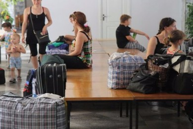 """IDPs could be evicted from the boarding house """"Dzherelo"""" in Pushcha-Voditsa, Kyiv"""