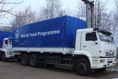 UN Food Programme extends food assistance in Donbas in 2017
