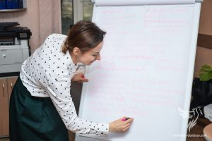 """Volunteers of """"Restoring Donbass"""" held a seminar In Kiev for IDPs on finding a job"""
