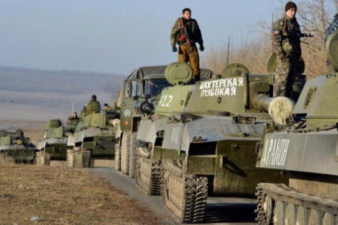 OSCE reports on the accumulation of military equipment in the security zone