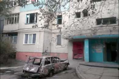 Lugansk before and after…