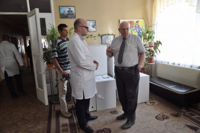 Volunteers of the «Restoring Donbas» delivered medical equipment to Lyman