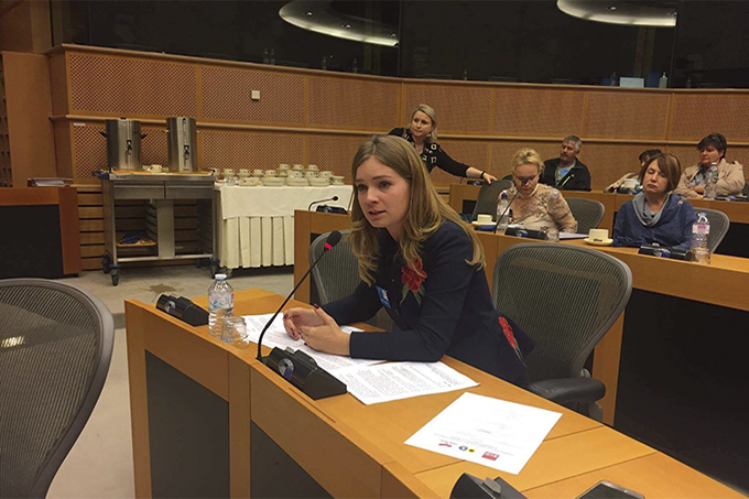 "The ""Restoring Donbas"" stated about human rights violations of Ukrainians in the European Parliament"