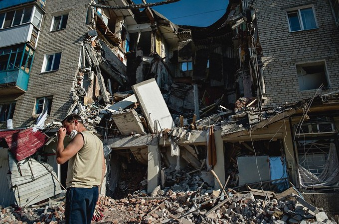 War in Donbas means a humanitarian catastrophe and destroyed infrastructure
